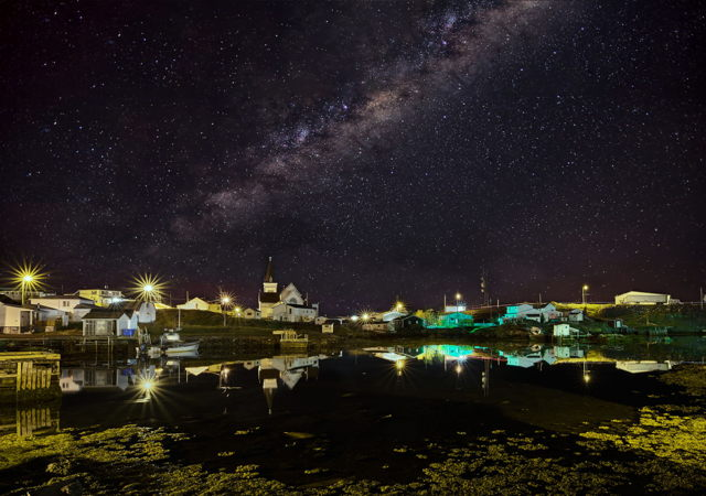 Milky Way Over Fogo Harbour