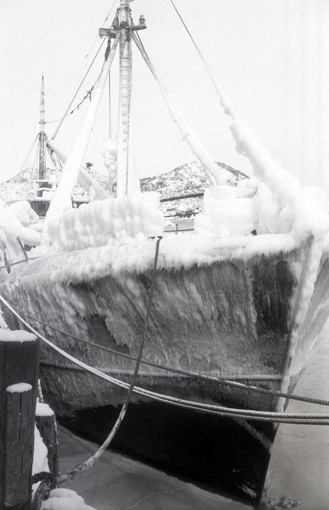Iced Up - Burin trawler - 1960s