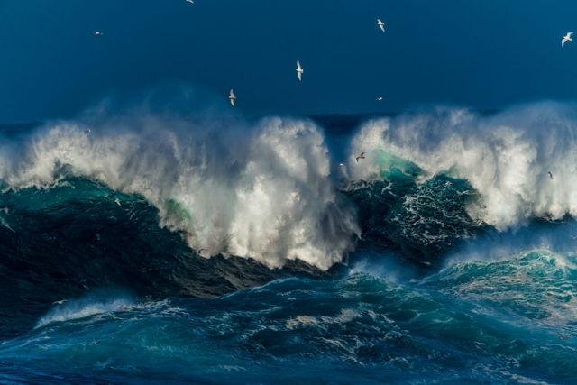 Thunderous Atlantic Waves