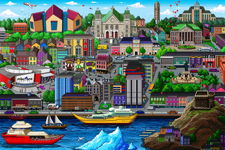 St. John's pixelCity