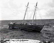 Marystown schooner J.W. Wiscombe - 1965