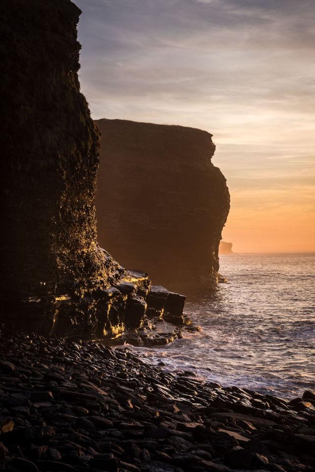 Grebe's Nest sunset - Bell Island