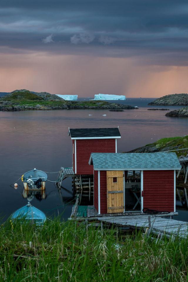 Change Islands Storm Bergs