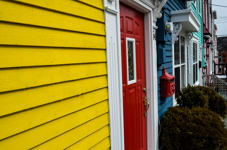 Jelly Bean Row Houses, St John's, NL
