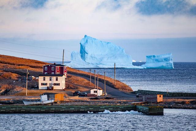 Ferryland Iceberg at Sunset