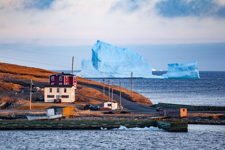 Ferryland Iceberg at Sunset