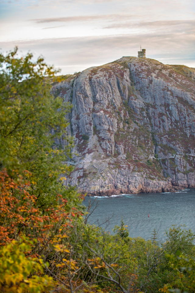 Cabot Tower from East Coast Trail