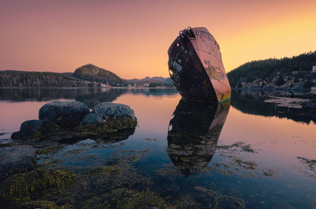Ship Wreck Conception Harbour