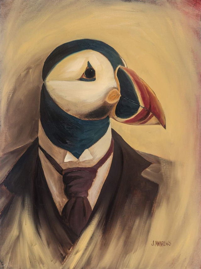 Fancy Puffin