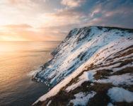 Winter Coastline Torbay Point