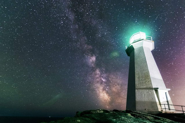 Cape Spear Lighthouse Milky Way