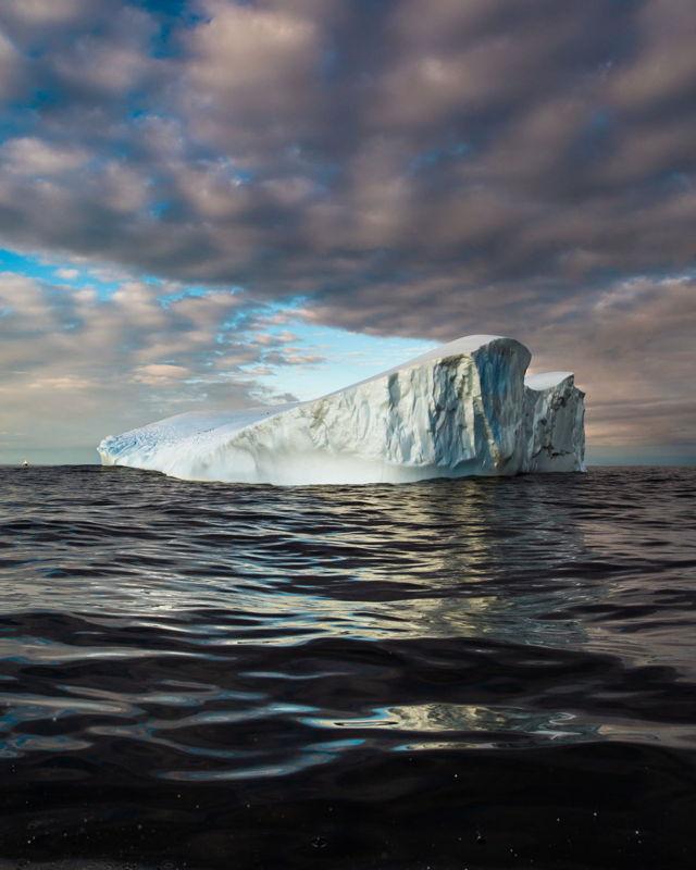 Floating Past Newfoundland