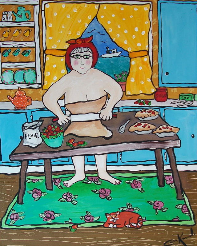 Sometimes When Pop Was Out Fishing Nan Would Make Strawberry Pies in the Nude