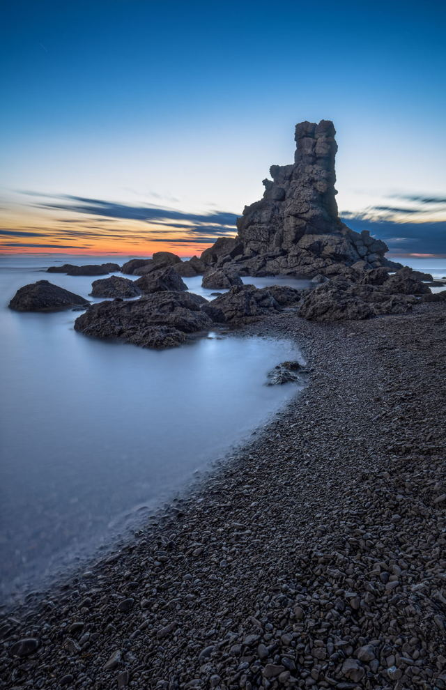 Sea Stack at Green Gardens Beach