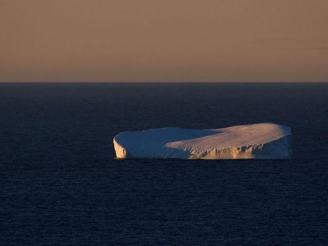 Iceberg in the morning