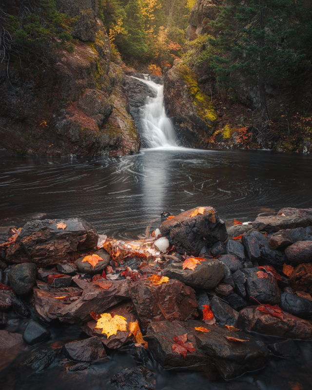 Autumn at Rattle Falls