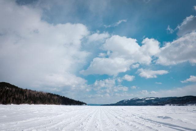 Pollard's Point Frozen Harbour