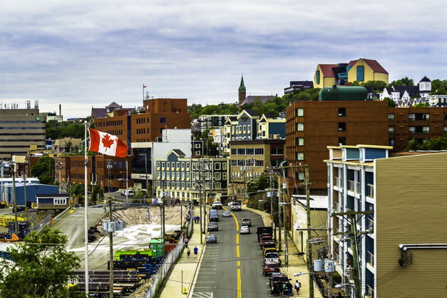 Colorful Downtown St. John's NL