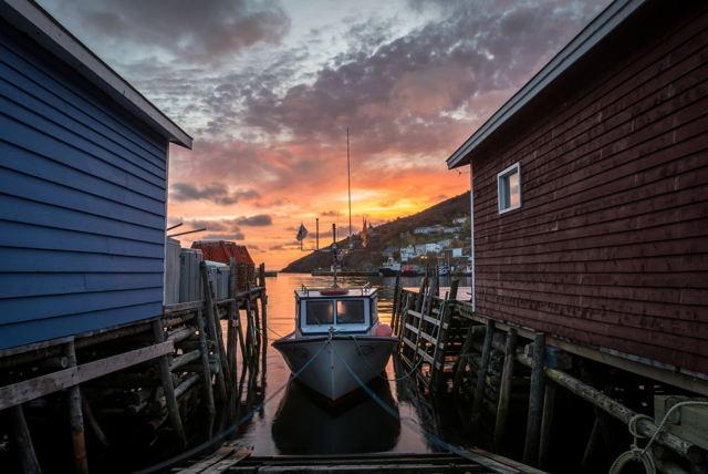 Petty Harbour Autumn Sunrise