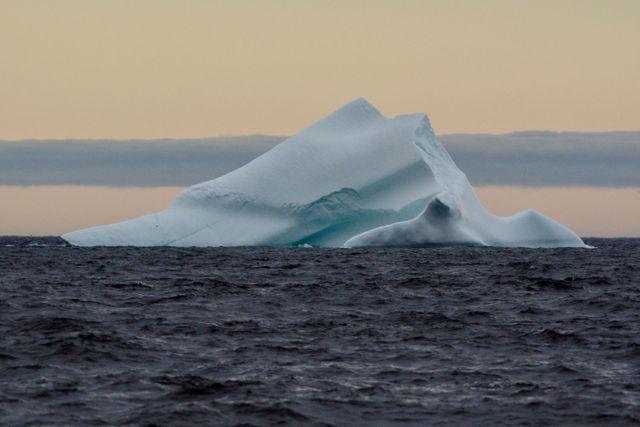 Water and iceberg