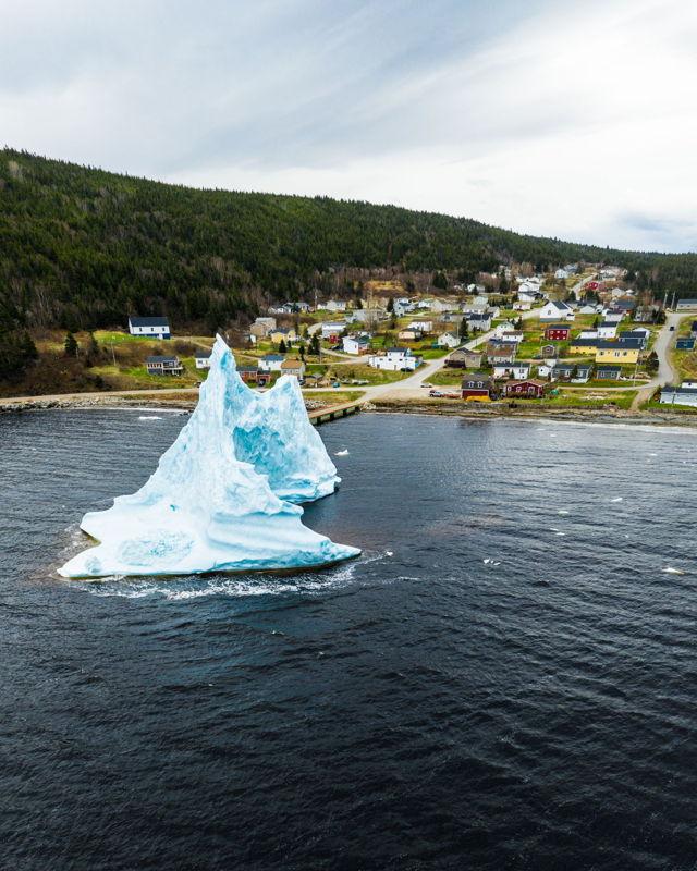 Iceberg in Hampden