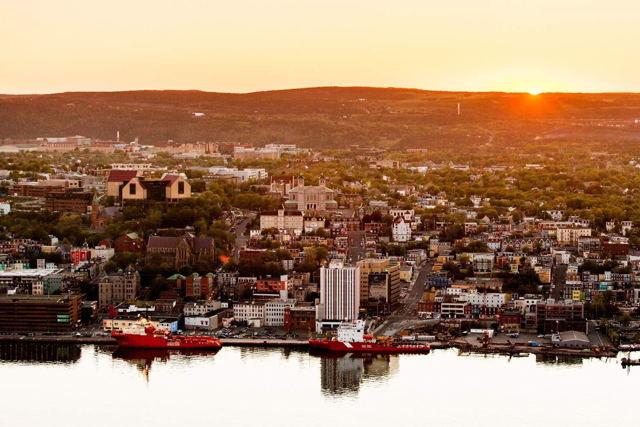 St. John's Harbour Sunset