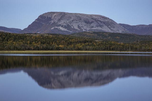 Gros Morne Mountain Reflection