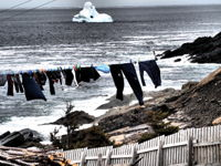Iceberg and Blue Knickers
