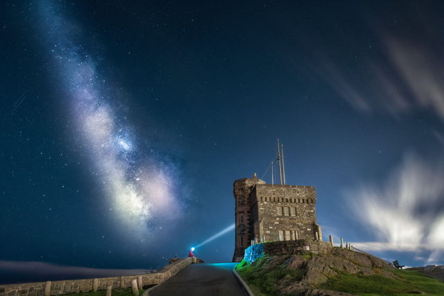 MilkyWay above Cabot Tower