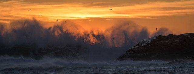 Sunrise Inferno
