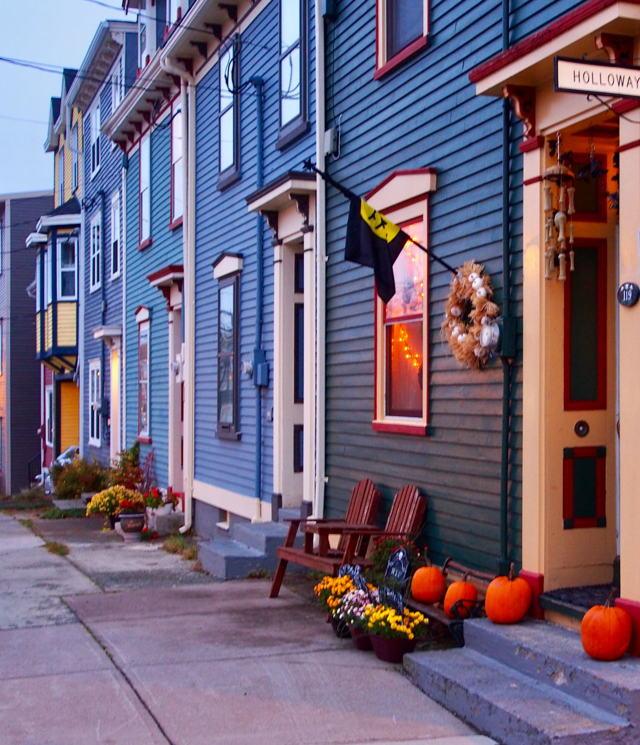 Gower Street at Halloween
