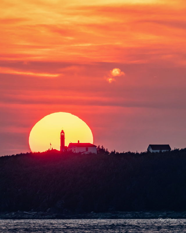 Lobster Cove Head Lighthouse Sunset