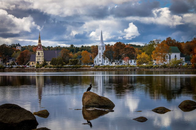 Fall in Mahone Bay