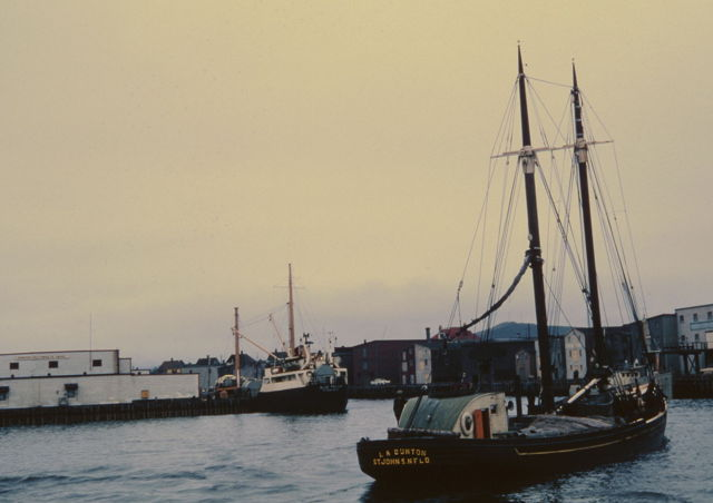 Grand Bank Schooner 'L.A. Dunton' - 1963