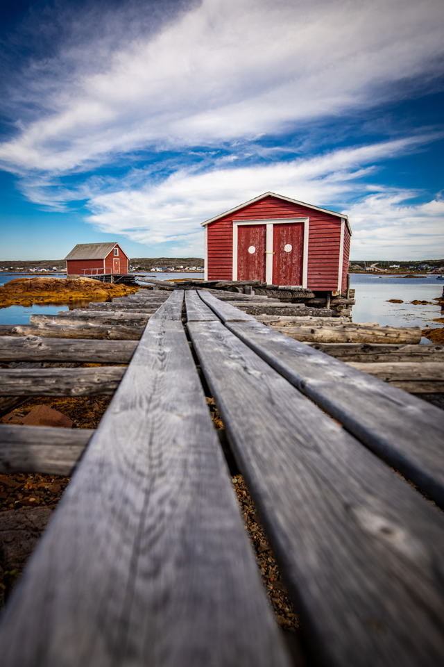 Fishing sheds