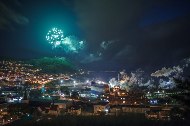Corner Brook Fireworks