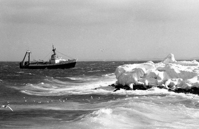 Grand Bank stern trawler 'Grand Count' - 1980