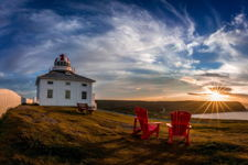 Red Chair Evening