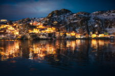 Blue Hour Reflections at The Battery