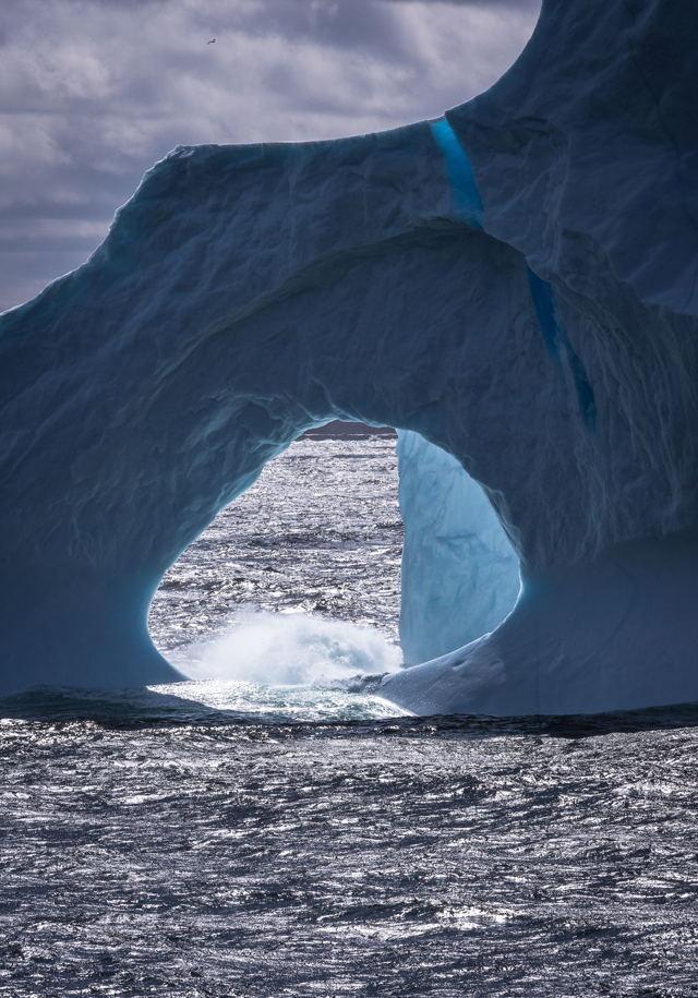 Iceberg Port Hole