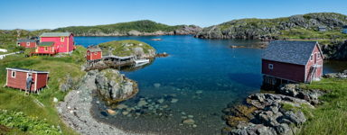 Fresh Paint, Change Islands, Newfoundland