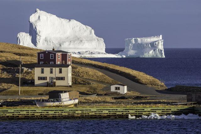 Ferryland Iceberg Evening