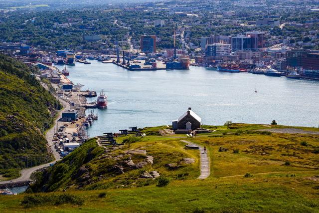 St. John's Harbour Overlook