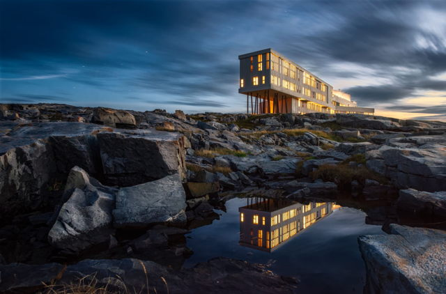 Fogo Island Inn Reflection