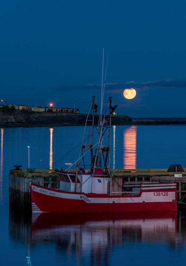 Rocky Harbour Moon