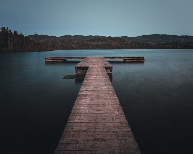 The Dock at Blue Hour