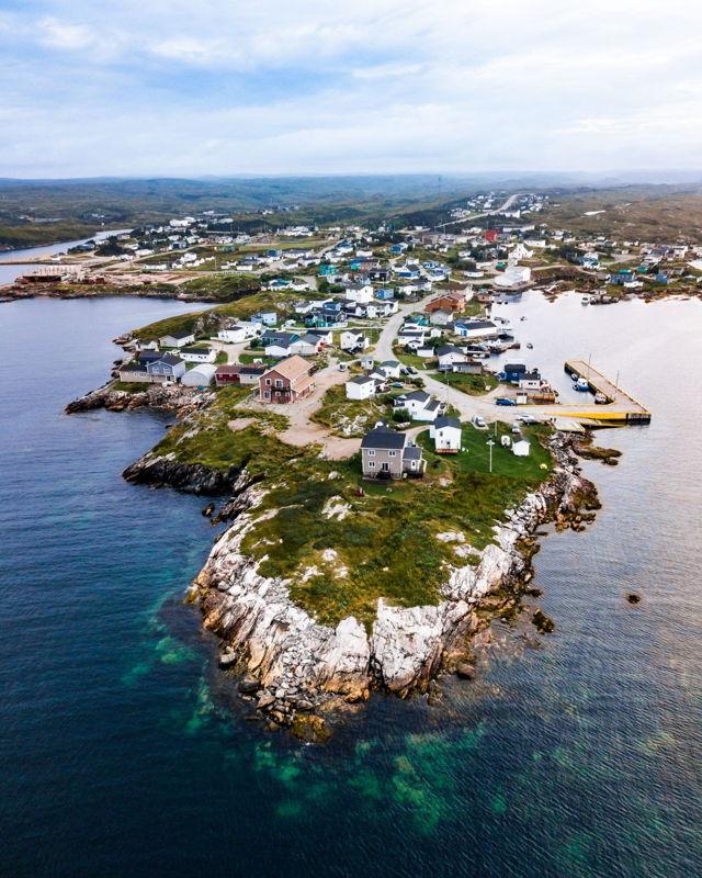 Isle aux Morts Rocky Coastline
