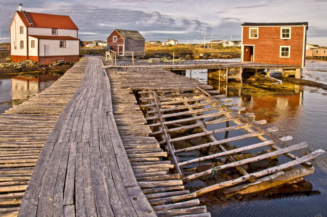 Dwyer Premises, Tilting, Newfoundland, Canada