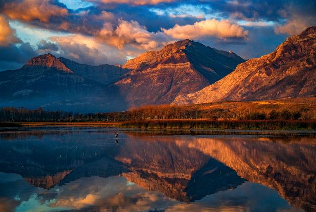 Mountain Reflections, Alberta, Canada
