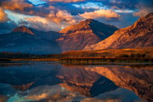 Mountain Reflections, Alberta, Canada